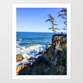 Cape Arago State Park - Oregon Coast Art Print