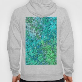 Technology Psychedelic Cold Hoody