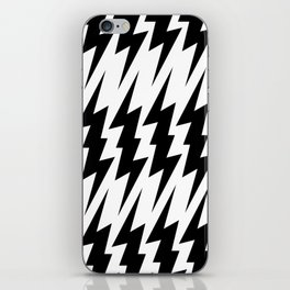 BASiC LiGHTNiNG BOLT PATTERN iPhone Skin