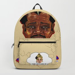 The Weakest Man On Earth Backpack