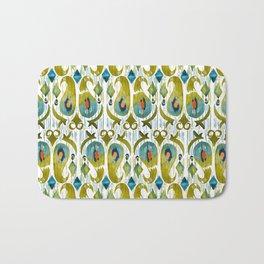 indian cucumbers balinese ikat print mini Bath Mat