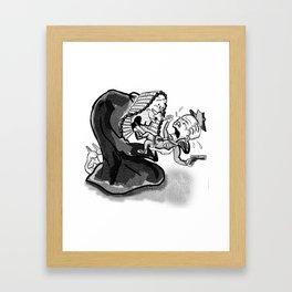 The Injustice System Framed Art Print