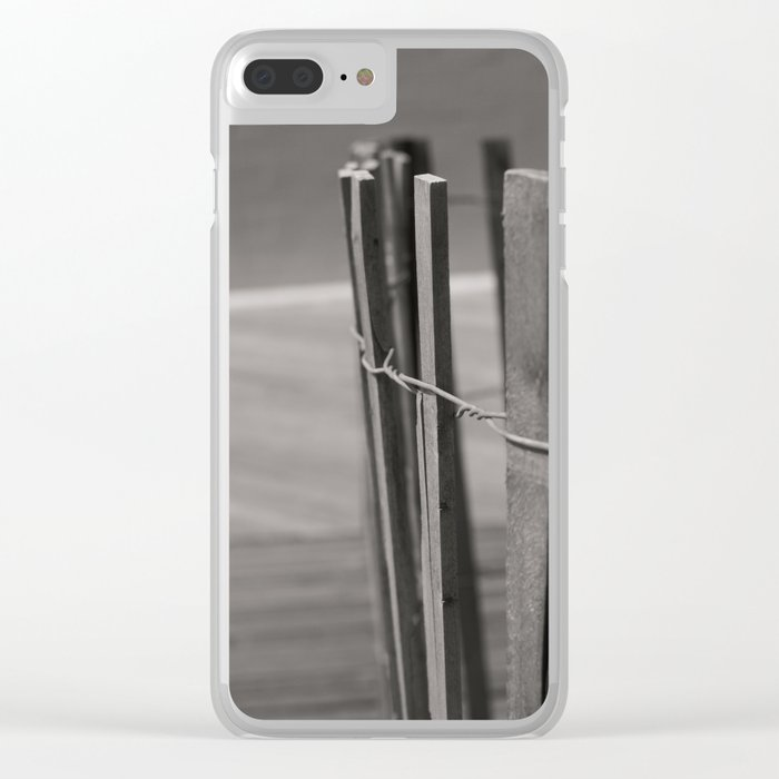 FENCED Clear iPhone Case