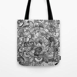 Mandala 4 Tote Bag