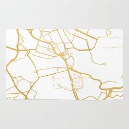 STOCKHOLM SWEDEN CITY STREET MAP ART Rug