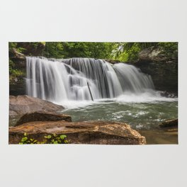 Mill Creek Falls, Ansted, West Virginia Rug