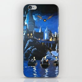 Gogwarts iPhone Skin