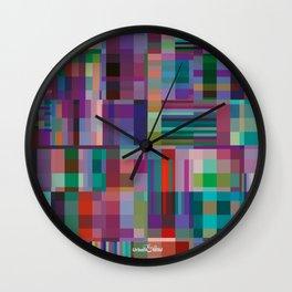 V&A colour blocks Wall Clock