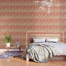 Watercolor Love doodles Wallpaper