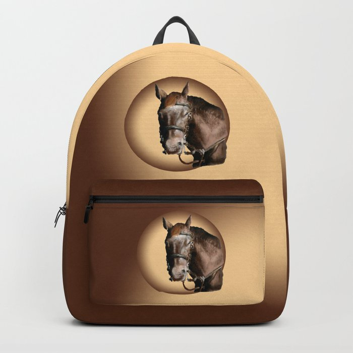 Season of the Horse - Pudding Backpack
