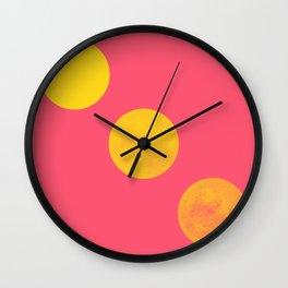 Europa Duo Dots Wall Clock