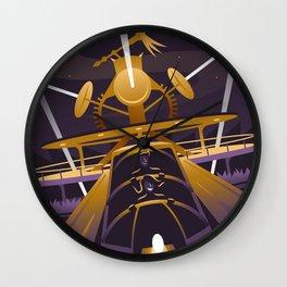 Rocket Rods Wall Clock