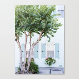 The Teal House - Charleston, SC Canvas Print