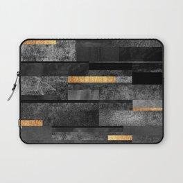 Urban Black & Gold Laptop Sleeve