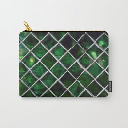 Emerald Pattern Carry-All Pouch