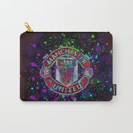 Watercolor Manchester United Carry-All Pouch