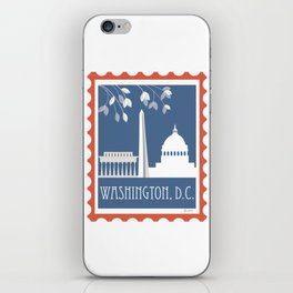 Washington, D.C. - Skyline Illustration by Loose Petals iPhone Skin