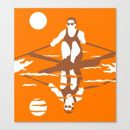 Rower Canvas Print