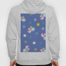Snowflakes & Pair Snowman_C Hoody