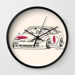 Crazy Car Art 0175 Wall Clock