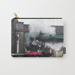 Vintage Steam Railway Train at the Station Carry-All Pouch