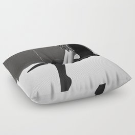 No Such Thing As Nothing (By Night) Floor Pillow