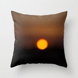 Sunset Algarve Throw Pillow
