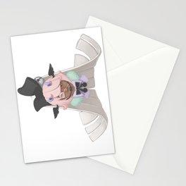Angel - side Stationery Cards
