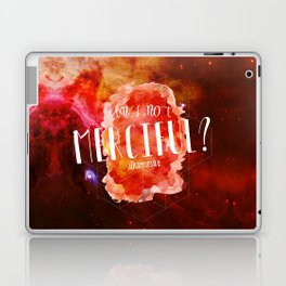 Am I Not Merciful (Illuminae) Laptop & iPad Skin