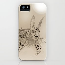 Shell Back iPhone Case
