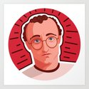 Queer Portrait - Keith Haring by dialmformichele