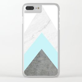 Arrows Collage Clear iPhone Case