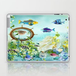 Leben im Wasser Laptop & iPad Skin