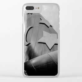 B+W: Sorcerer's Hat (Hollywood Studios) Clear iPhone Case