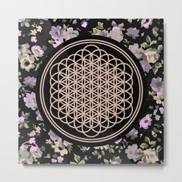 This Is Sempi-floral Metal Print