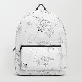 Umbel flowers repeat Backpack