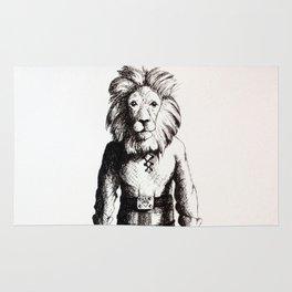 Lion in Kilt (Sketch) Rug