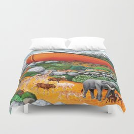 A New Beginning (Noah's Ark) Duvet Cover