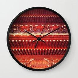 Three-storied pagoda Wall Clock