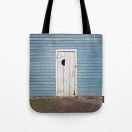 Half Moon Door Tote Bag