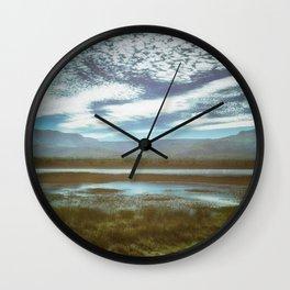 Crossings Wall Clock