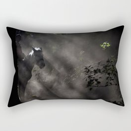 Light Rider Rectangular Pillow