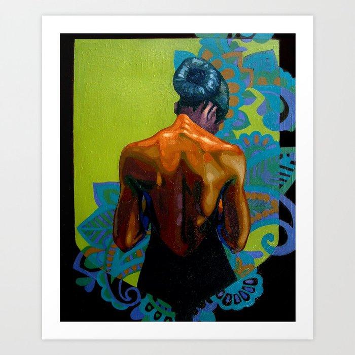 Woman 1 Art Print