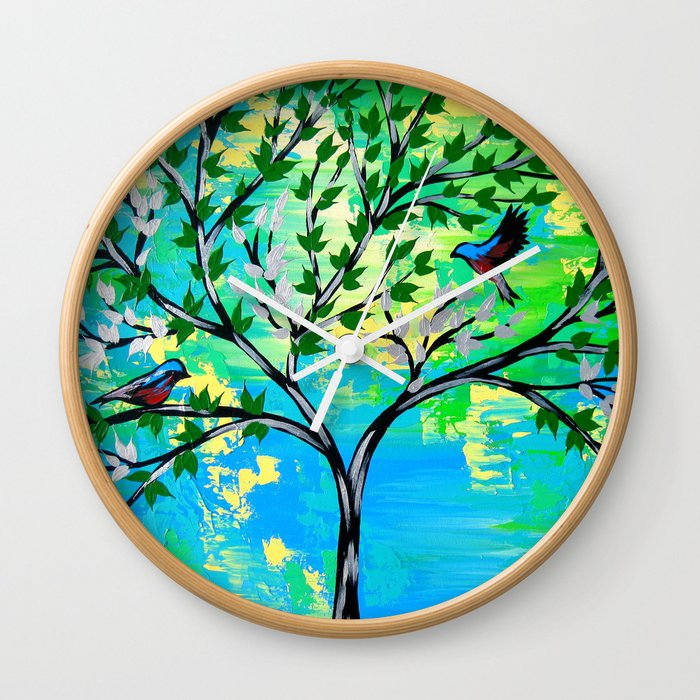 Love and Hope Wall Clock