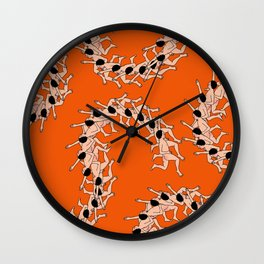 CENTIPEDE Wall Clock