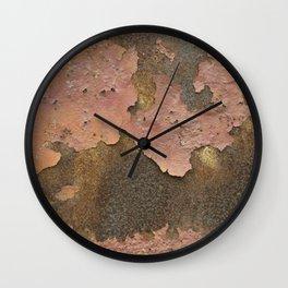 Texture #18 Rust Wall Clock