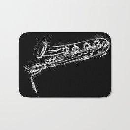 Baritone Saxophone Bath Mat