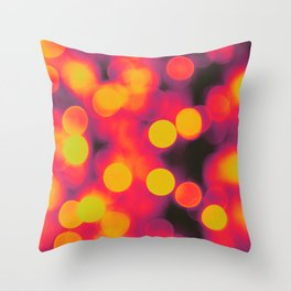 Bokehs II Throw Pillow