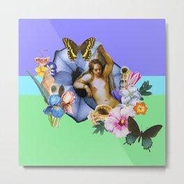 Aphrodite Colorblock Metal Print