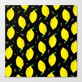 Lemon Squeezy 04 Canvas Print